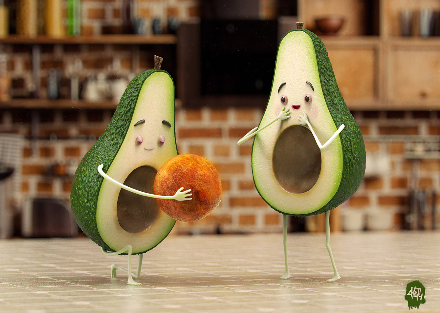 funny advertisement picture avacado by fernando chor