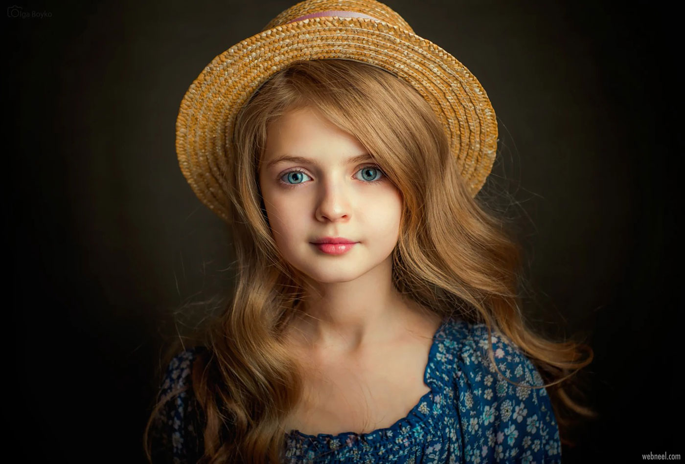 portrait photography kid by olgaboyko