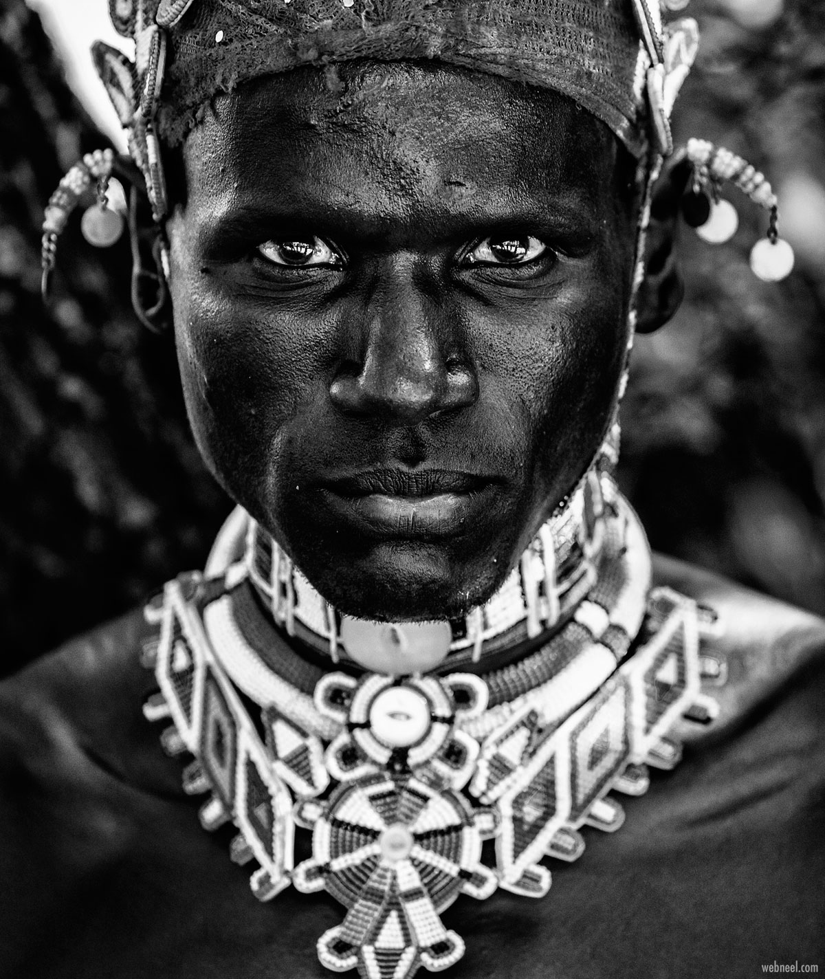 portrait photography tribal samburu man by vedranvidak