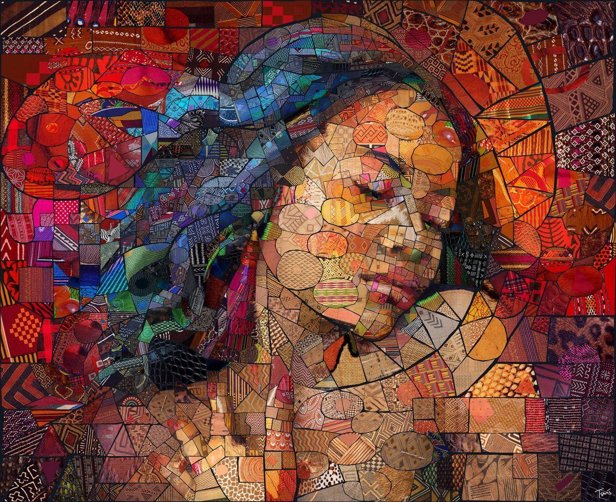 photoshop manipulation mosaic collage