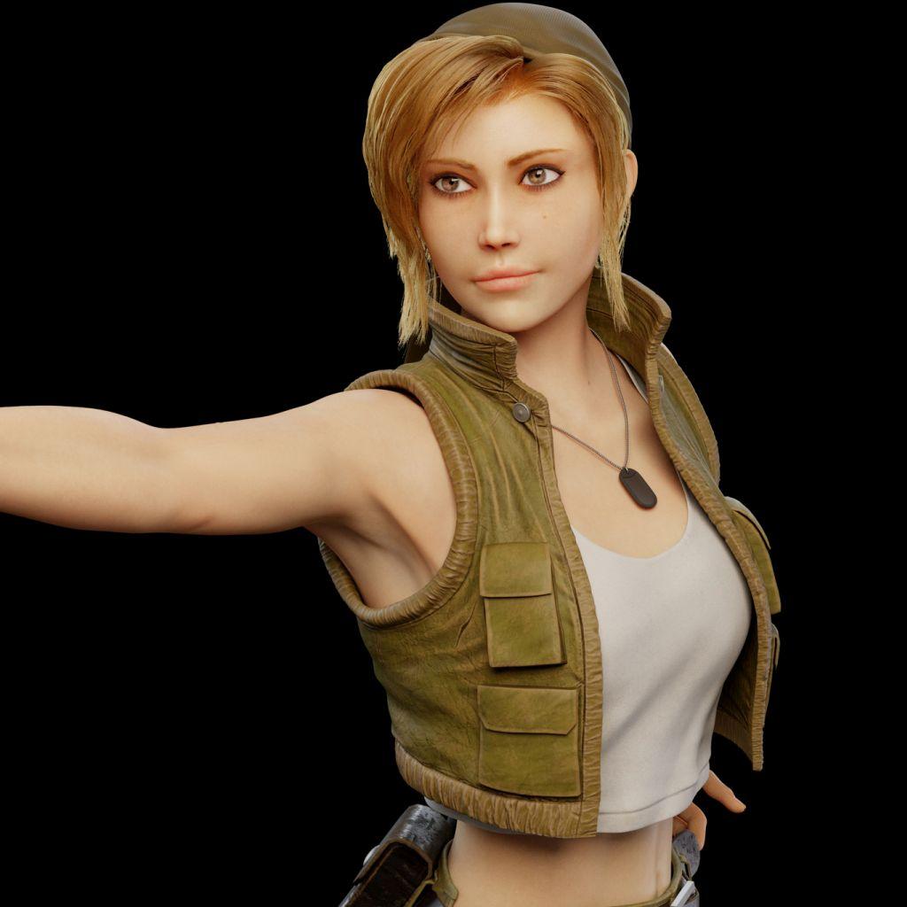 3d model character design