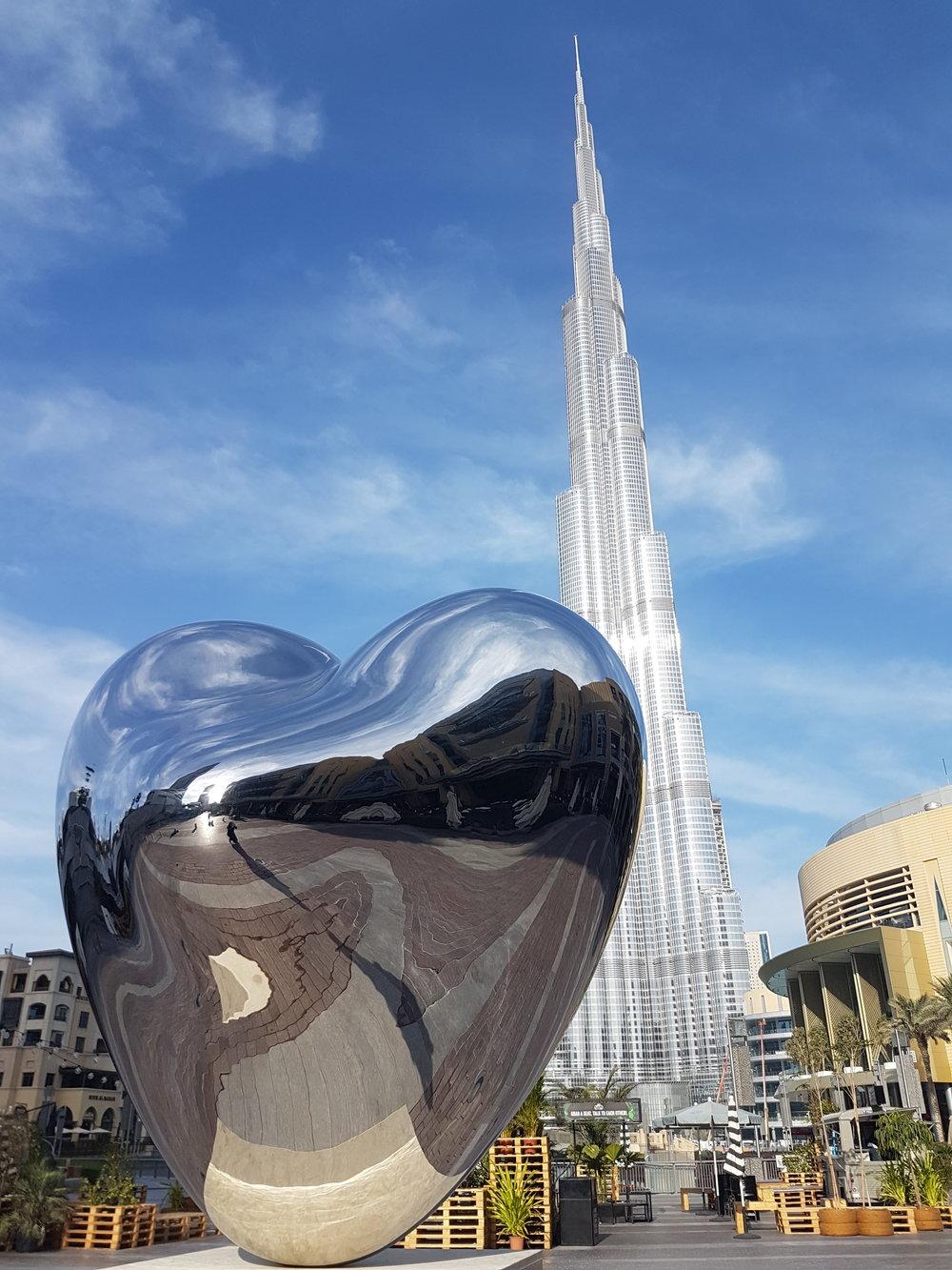 love me art sculpture by richard hudson