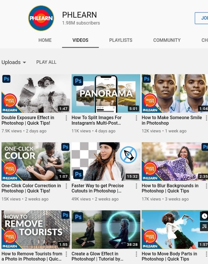 best graphic design youtube channel phlearn