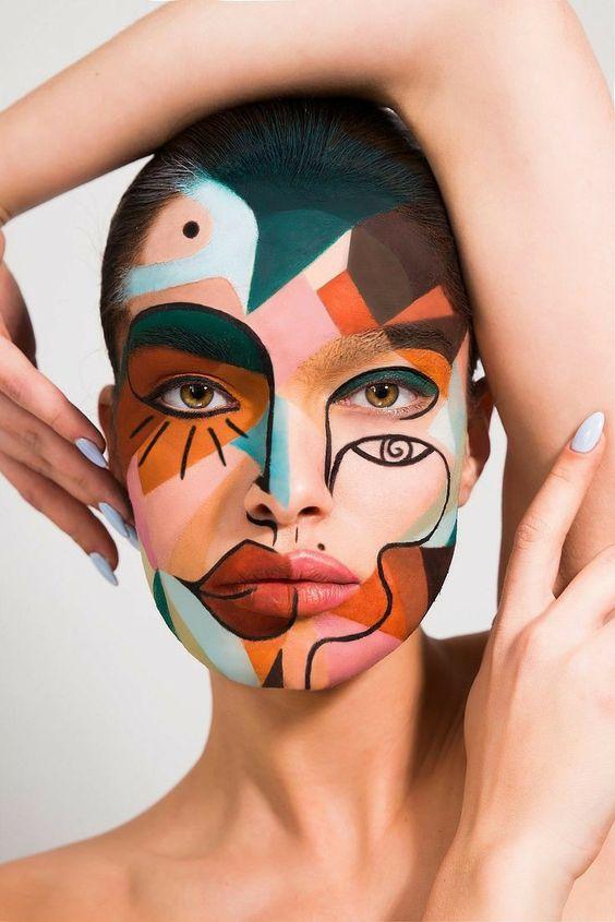 face art makeup