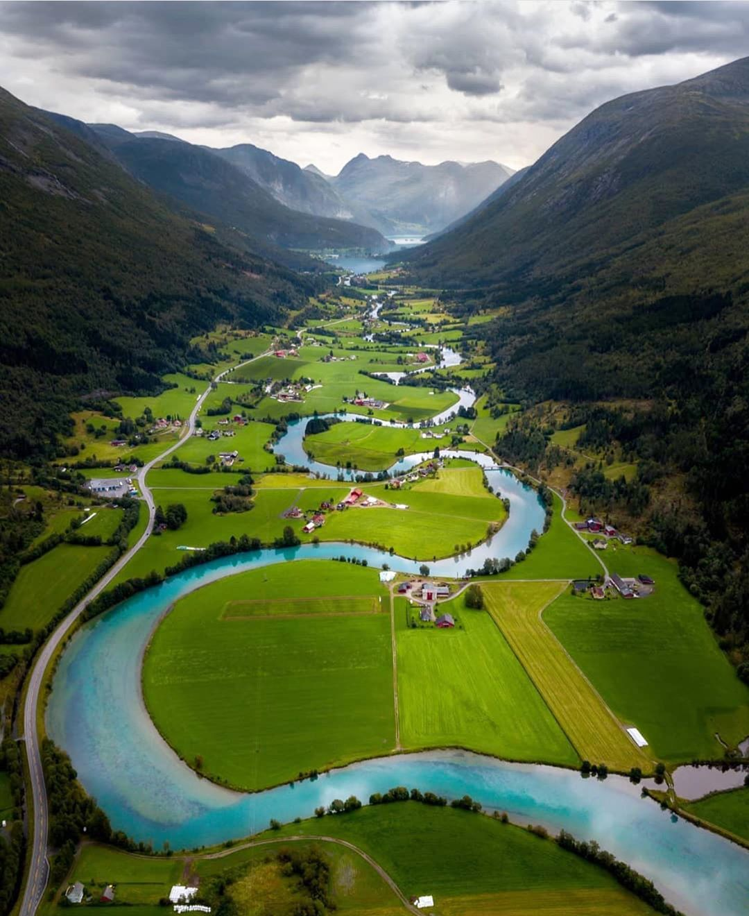 landscape photography river stryneelva in norway by viktor asztalos