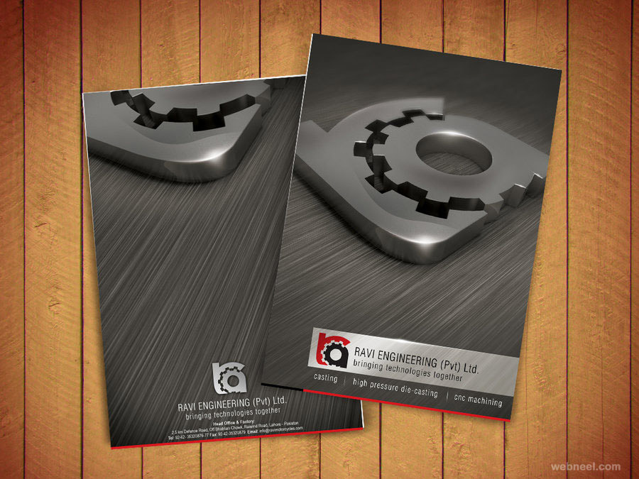 corporate brochure design by naasim