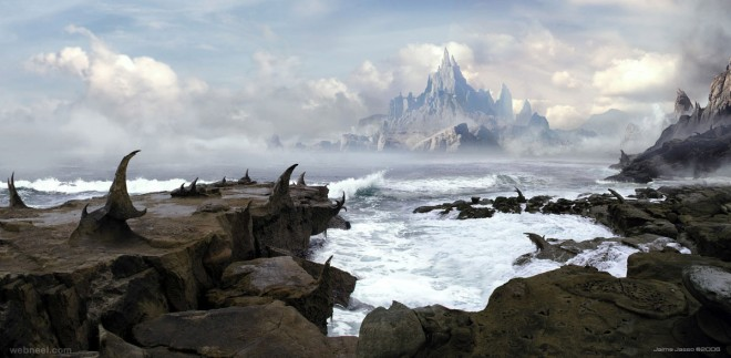 matte painting by jjasso