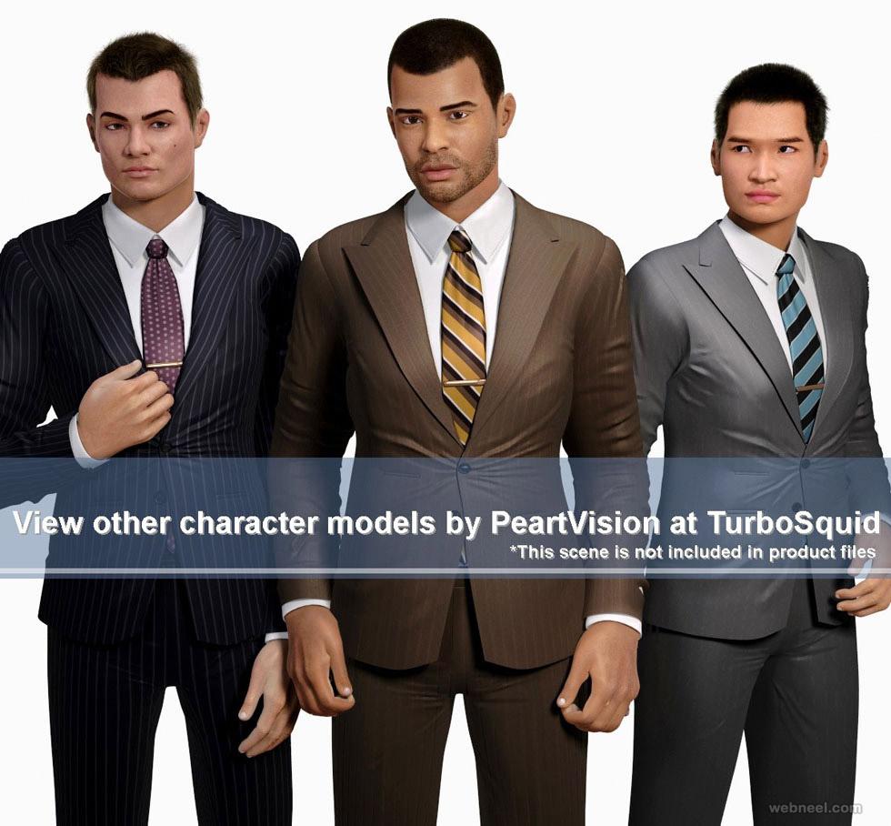 best 3d character design