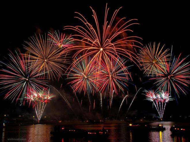 beautiful firework photography