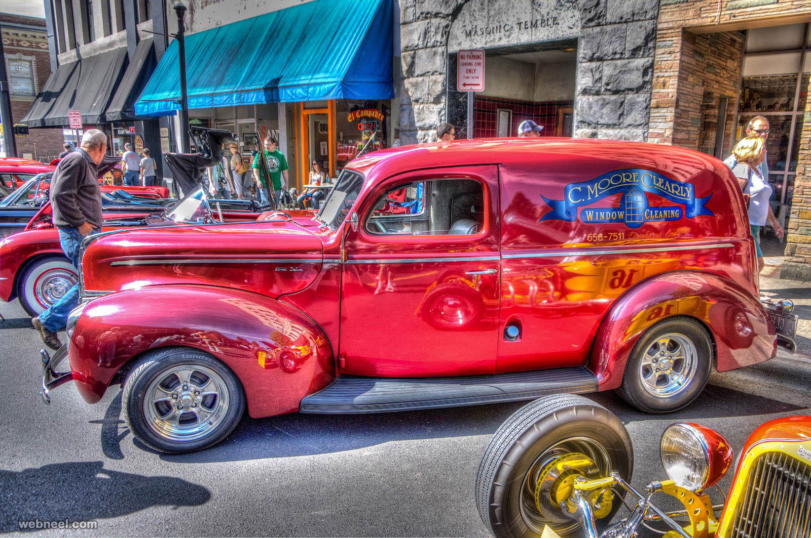 car hdr photography