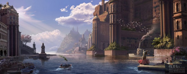 matte painting by bdbros