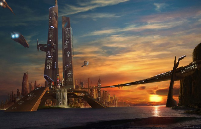 mall matte painting by frenic