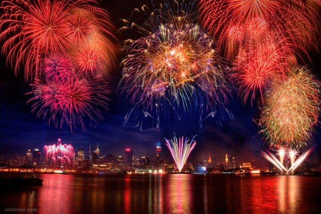 beautiful firework photography