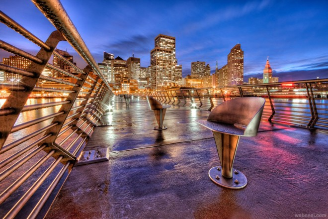 city hdr photography