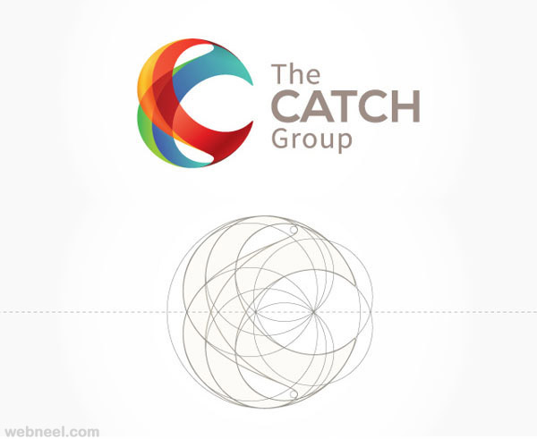 catch creative branding design