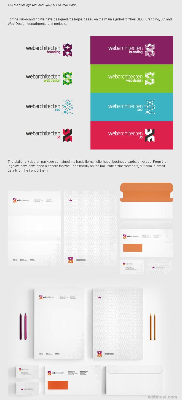 webarchitecten branding identity design