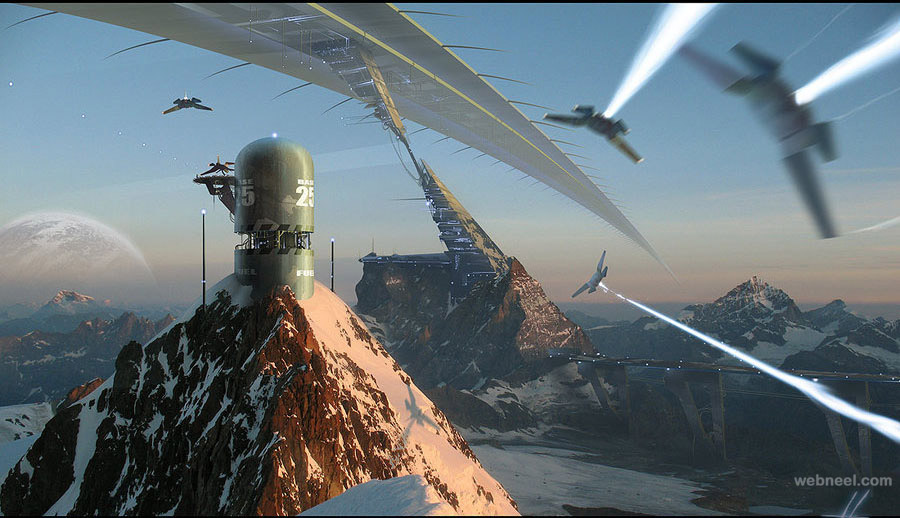 matte painting by grimdar