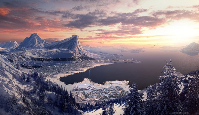 matte painting by edlo