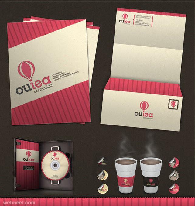 ouiea branding branding identity design