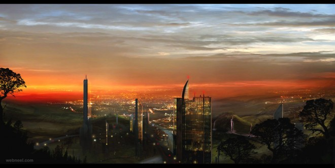 matte painting by airage