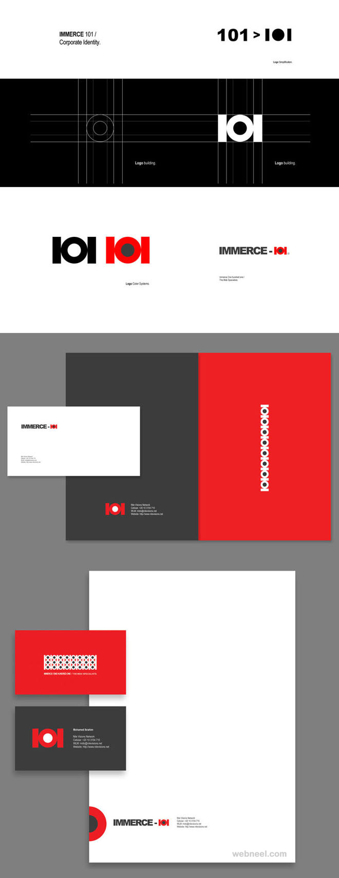 immerce branding identity design