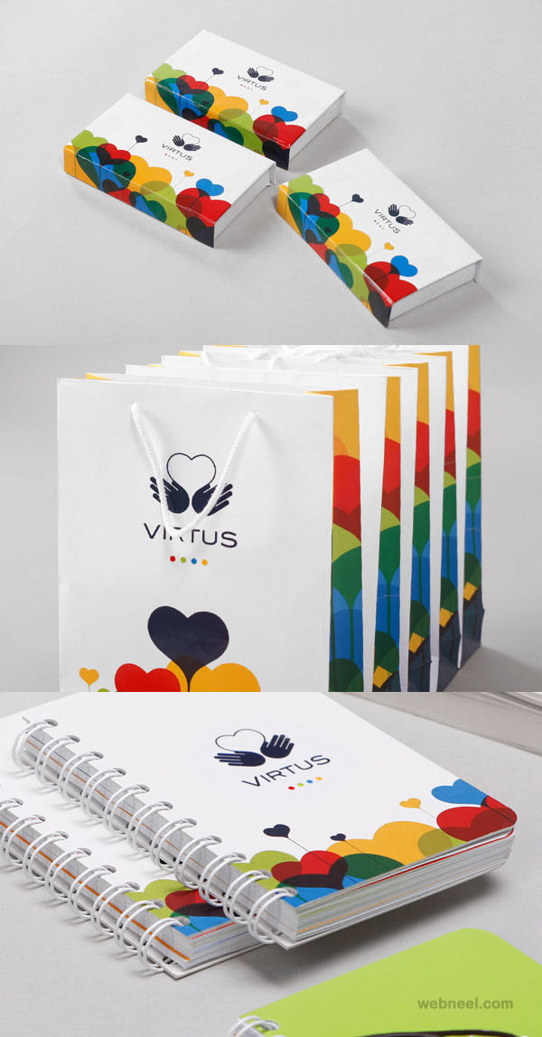virtus creative branding design
