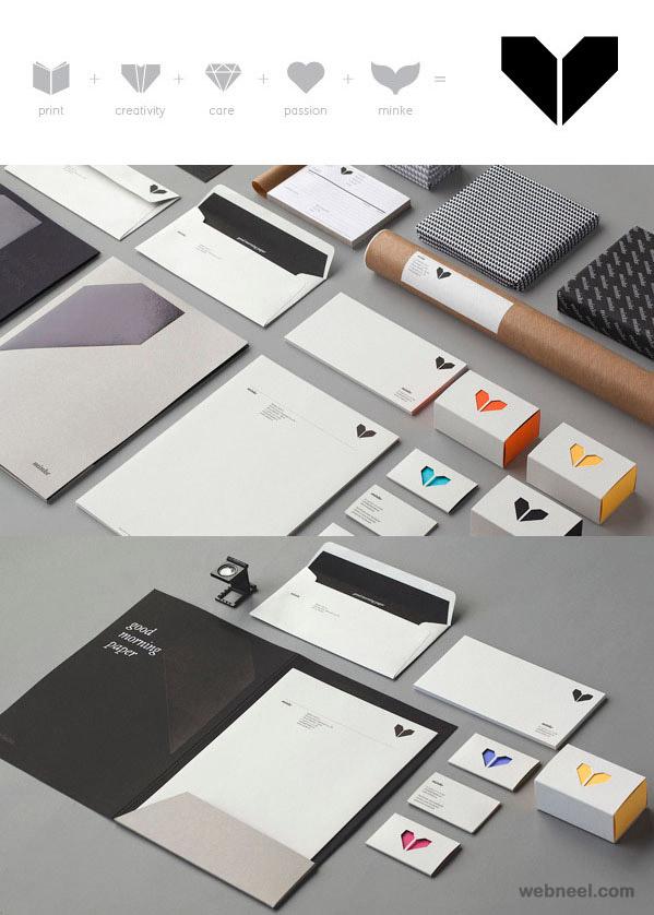minke creative branding design