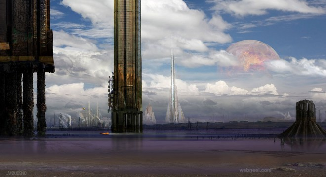 slew matte painting by guitfiddle