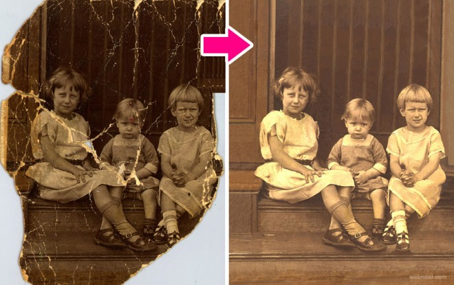 old photo restoration