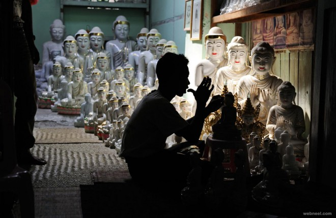 buddha photography by stevemccurry
