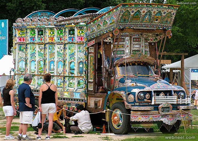 pakistan truck art by lia