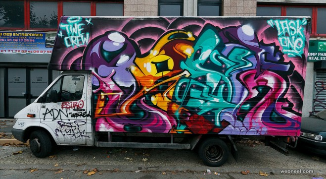 truck art by lask