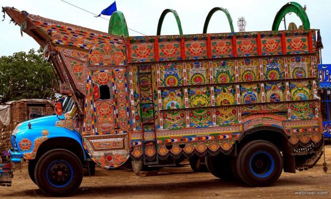 pakistan truck art by carol mitchell