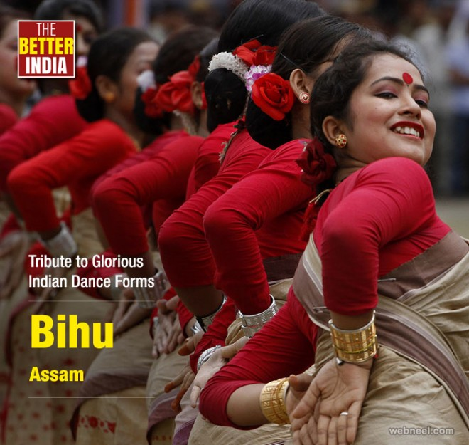 bihu assam indian dance photography by associated press