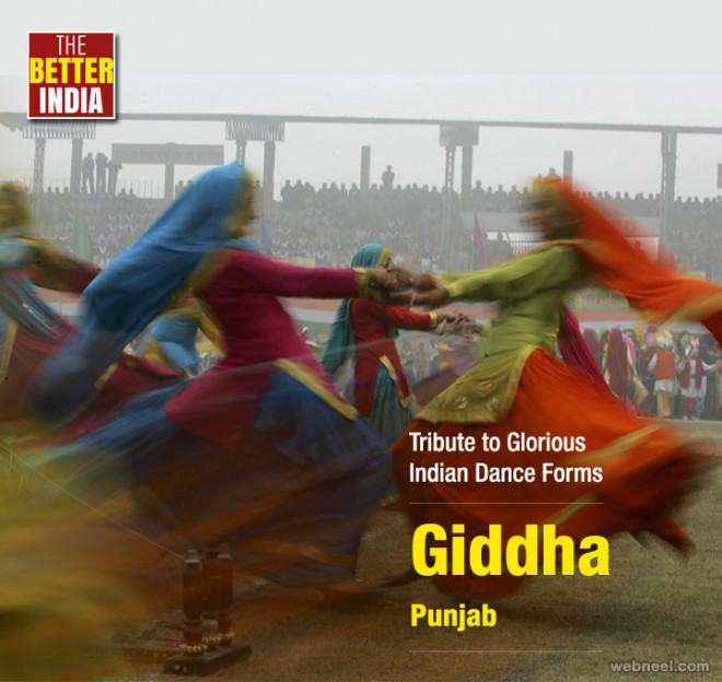 giddha indian dance photography by associated press
