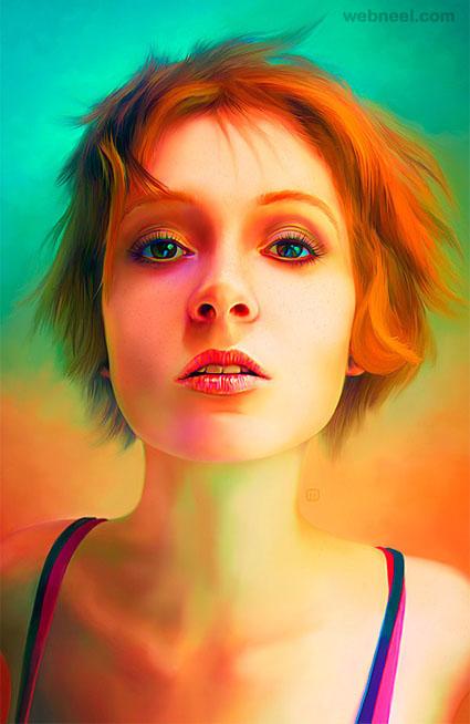 face retouching by michael oswald