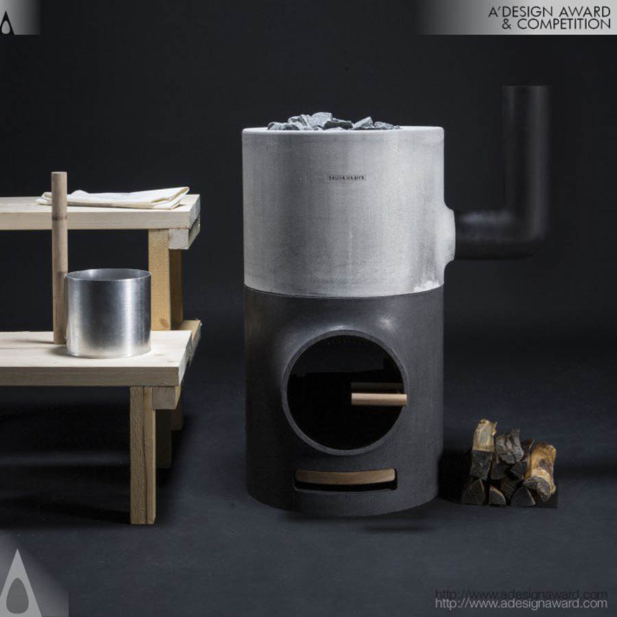 sauna habits stove design award by marina baranova