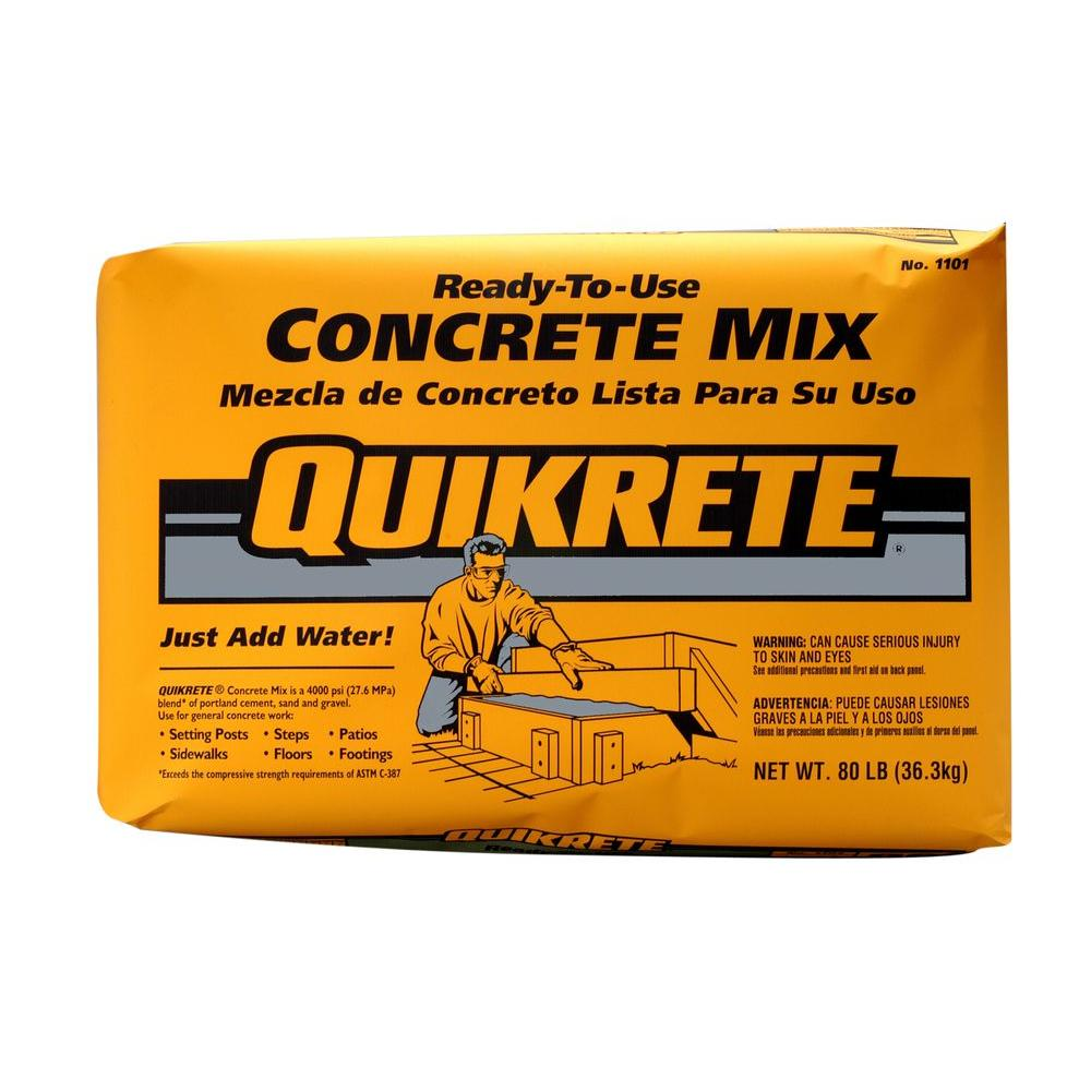 quikrete one bag wonder cement design