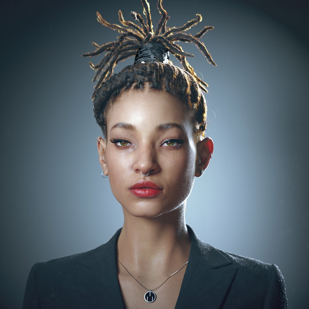 3d model willow smith