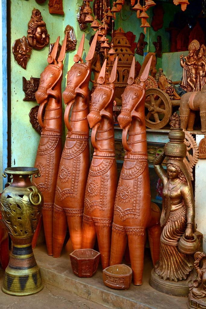 terracotta sculpture horse shop