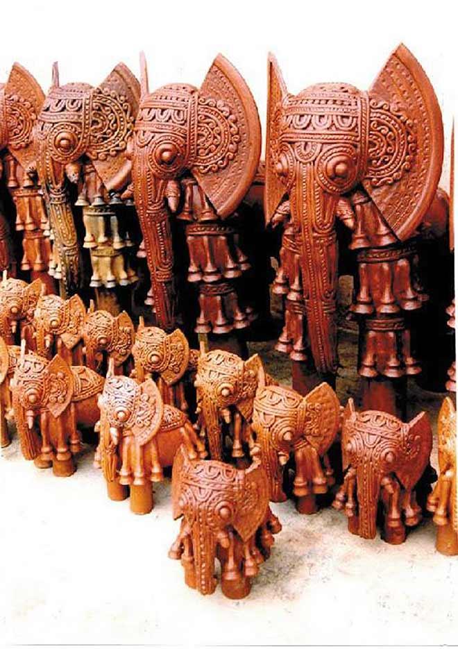 terracotta sculpture horse kondagaon chatisgar