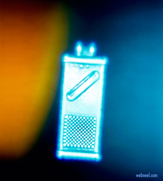 kirlian photography aura cheese grater