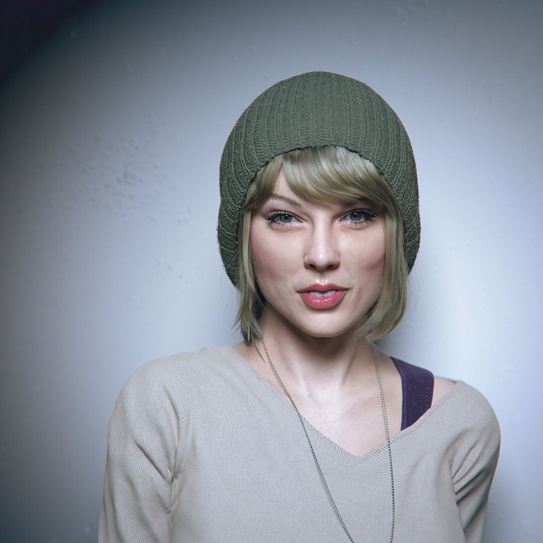 3d model taylor swift by hadi karimi