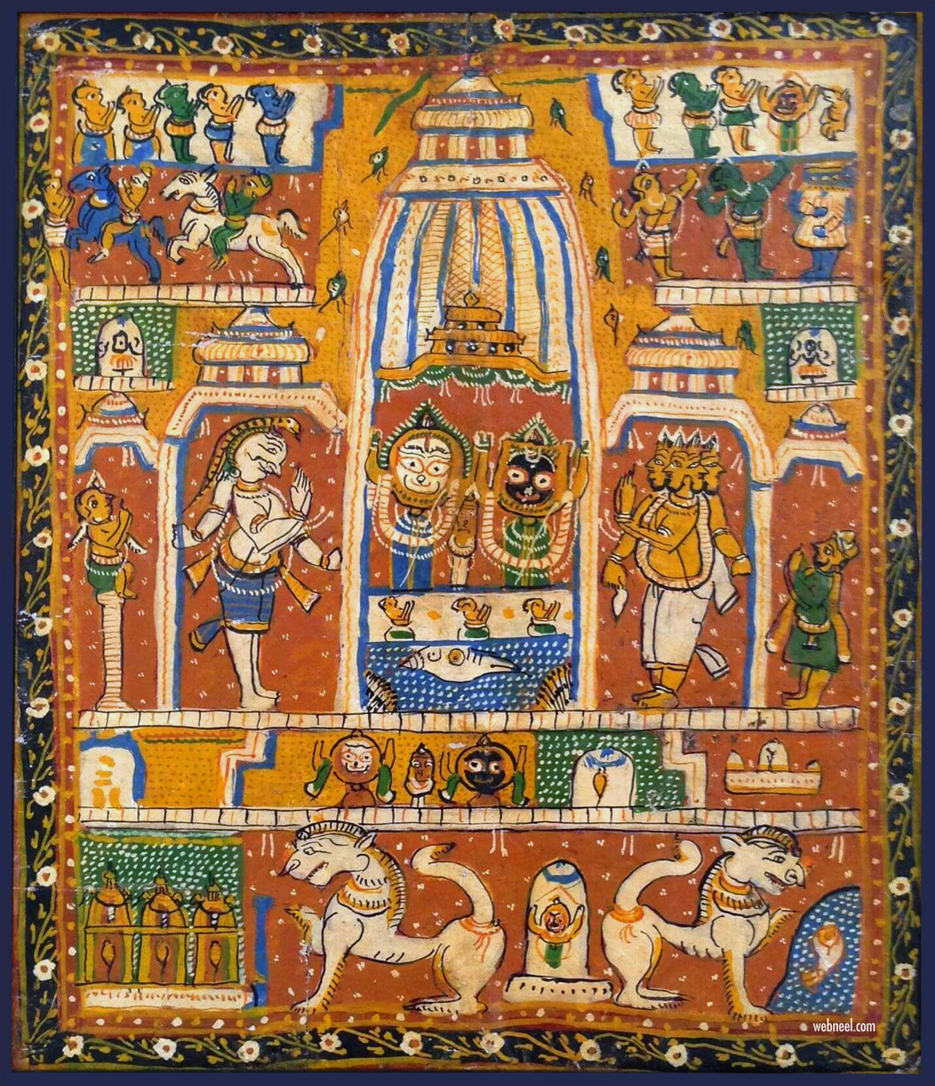 pattachitra painting jeganath temple
