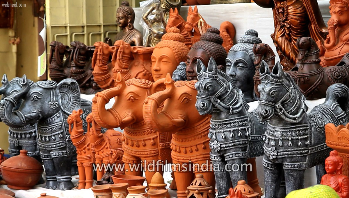 terracotta sculpture india best beautiful