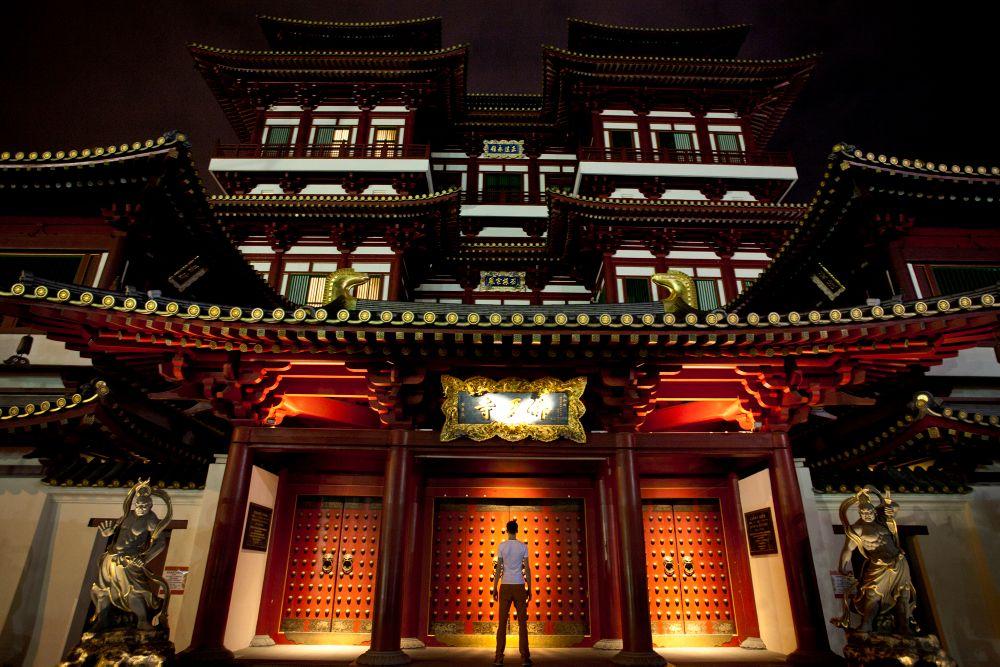 night photography singapore