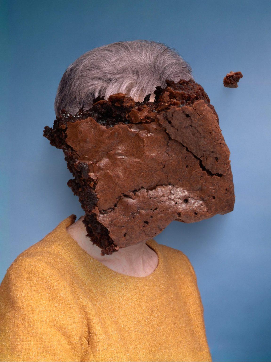 photo collage portrait brownie