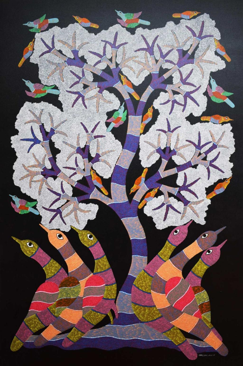 traditional gond art