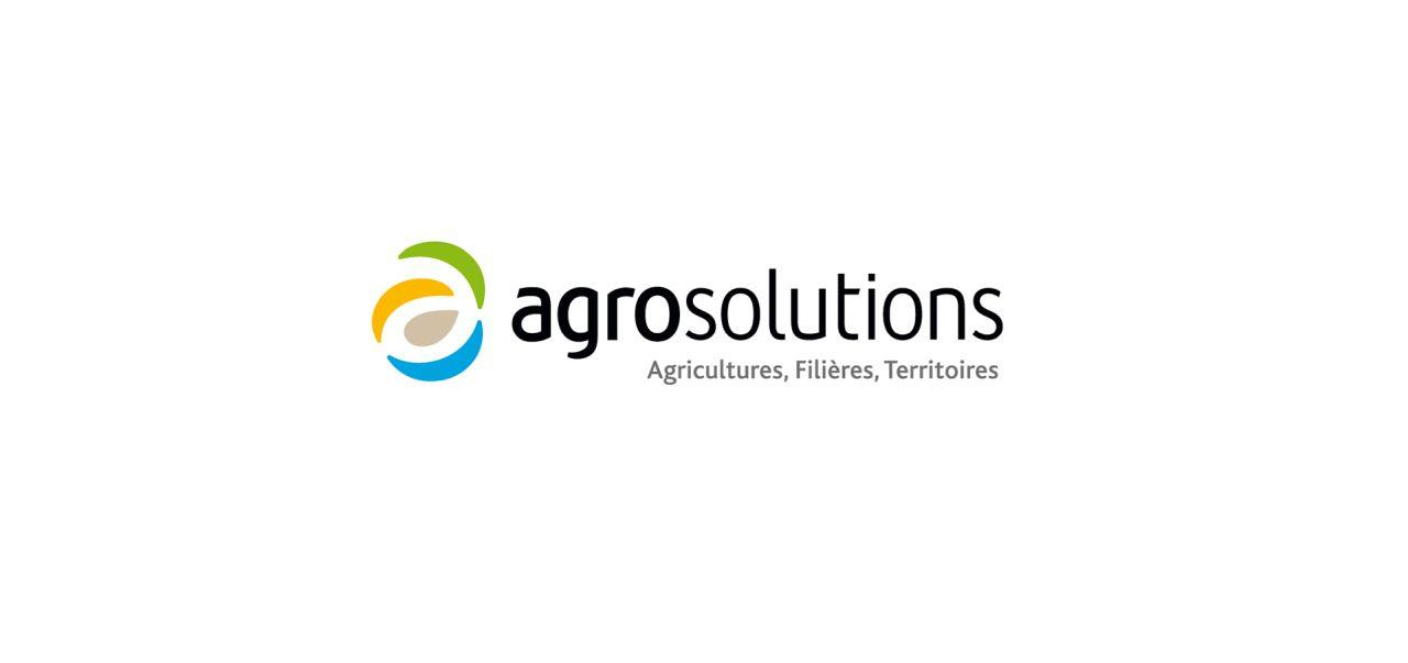branding logo design of agrosolutions by grapheine