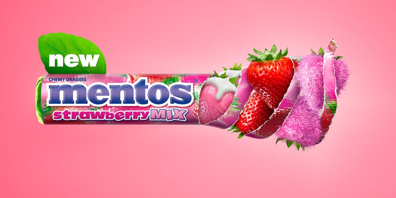 advertising photo manipulation idea mentos by lime house creative